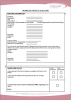 Tax Return Questionnaire