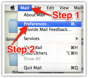 How to whitelist emails in Mac Mail - Freestyle Accounting