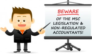 Contractors: Beware of the MSC Legislation & Non-regulated Accounting firms