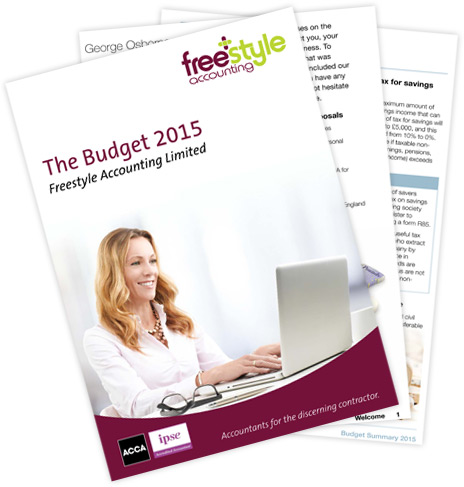 Download the Budget Summary 2015 - Freestyle Accounting