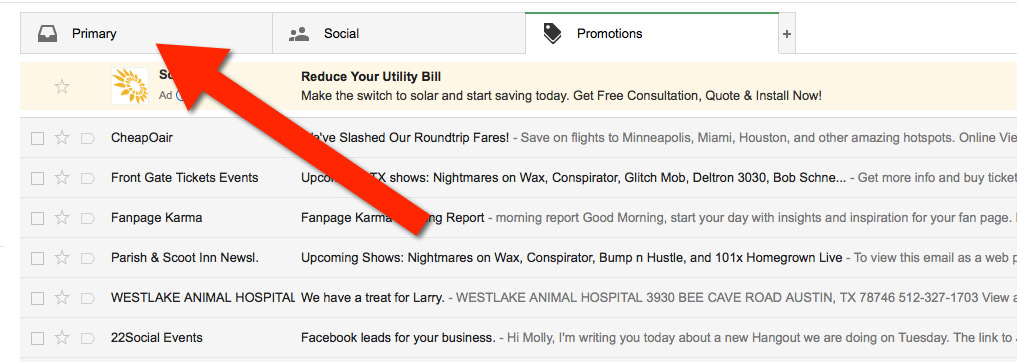 How to whitelist emails in Gmail - Freestyle Accounting