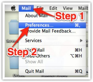 Whitelist emails in Mac Mail - Freestyle Accounting