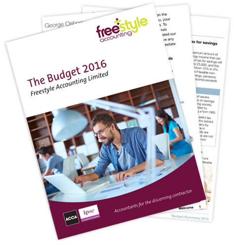 Download the Budget Summary 2016 – Freestyle Accounting